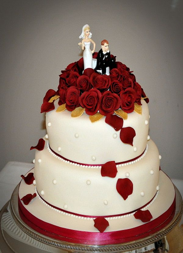 pics of wedding cake red and white bolo vermelho para casamento casamento cultura mix 18344