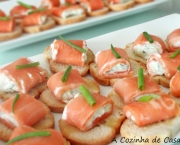 Canapês de Salmão com Cream Cheese (1)