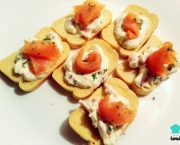 Canapês de Salmão com Cream Cheese (4)